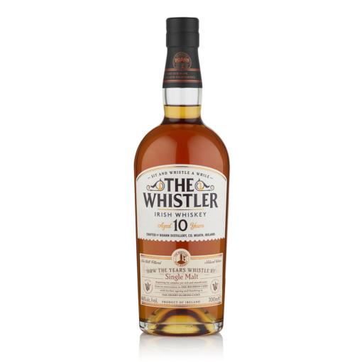 The Whistler Irish Whiskey 10 Year Old Single Malt