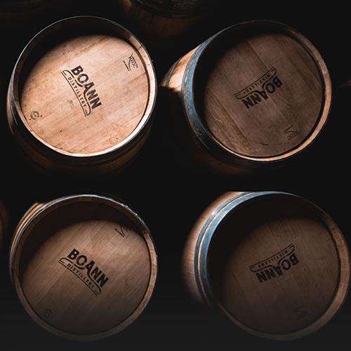 Irish Whiskey Boann Distillery Cask Offer