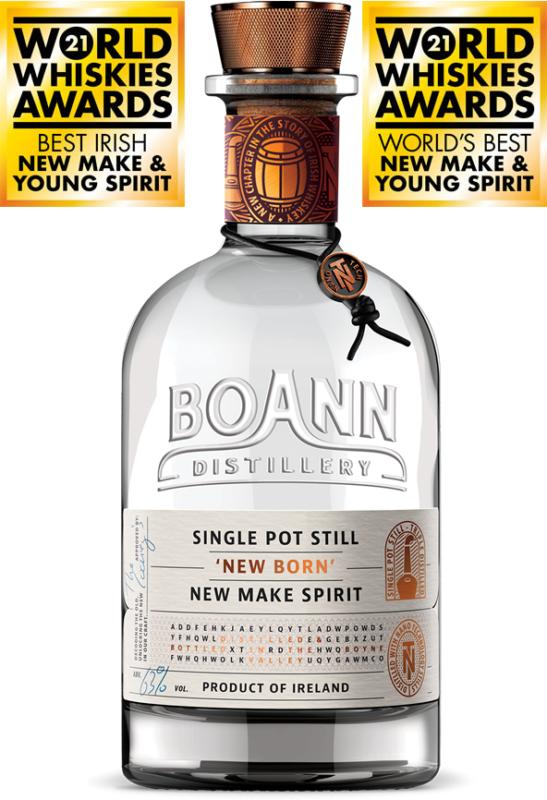 Boann Distillery Single Pot Still New Make Spirit