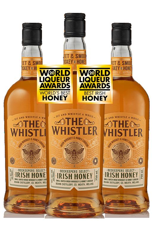 The Whistler Irish Honey Liqueur