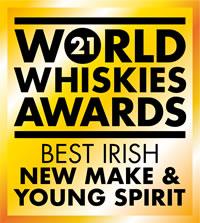World Whiskies Awards Best Irish New Make and Young Spirit 2021