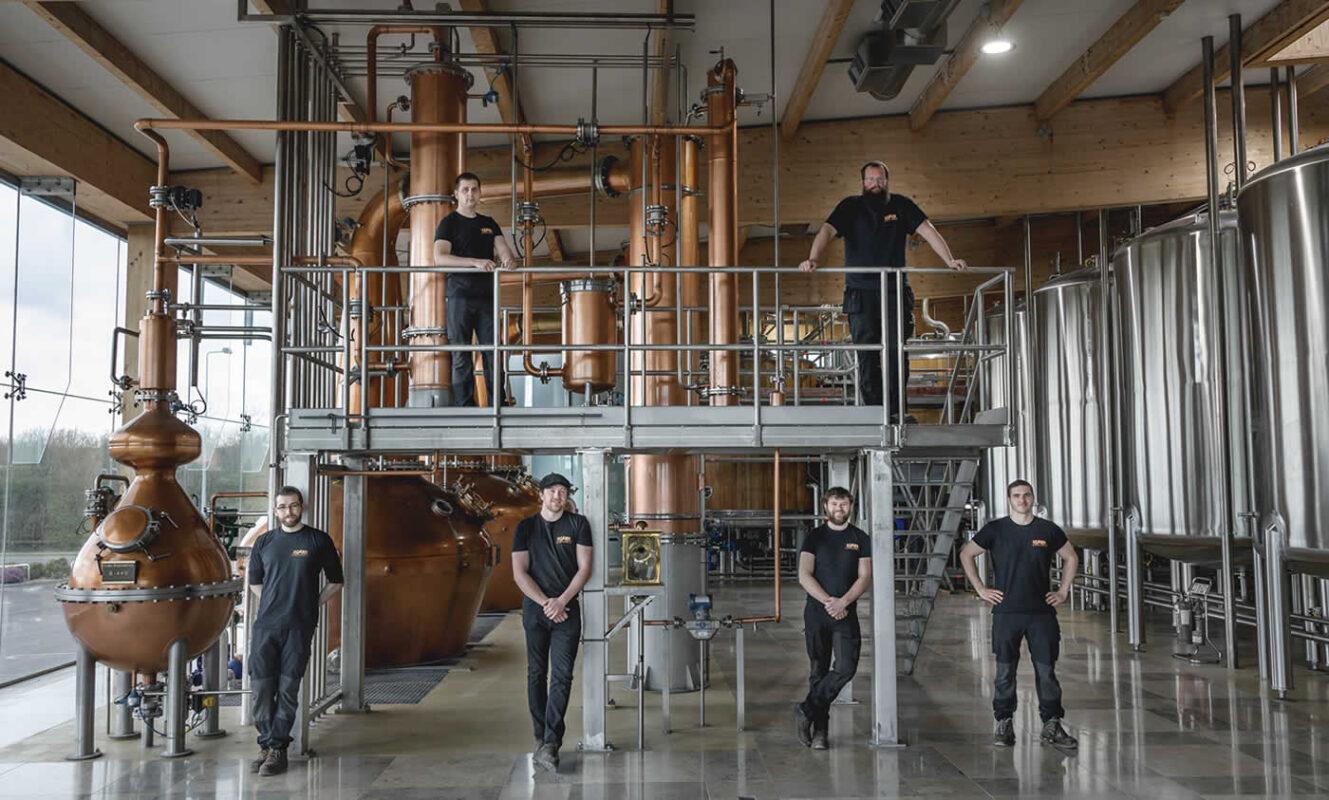 Our Distillery Team - Boann Distillery